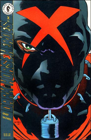 X (1994) 15-A by Dark Horse