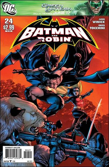 Batman and Robin (2009) 24-B by DC