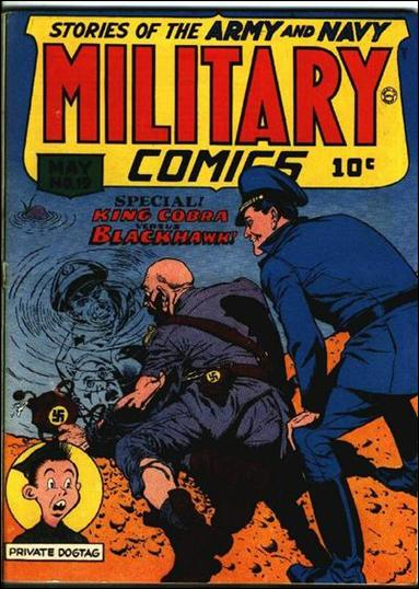 Military Comics 19-A by Comic Magazines