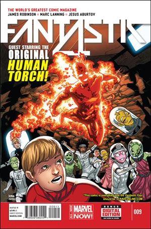 Fantastic Four (2014) 9-A