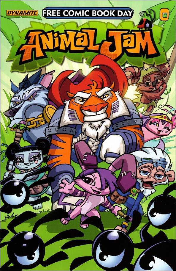 Animal Jam 0-A by Dynamite Entertainment