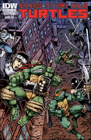 Teenage Mutant Ninja Turtles Annual 2012-A by IDW