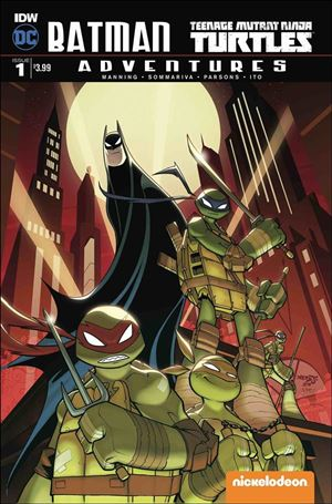 Batman/Teenage Mutant Ninja Turtles Adventures 1-A