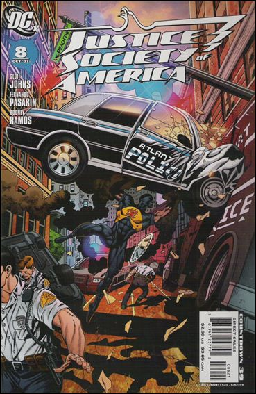 Justice Society of America (2007) 8-B by DC