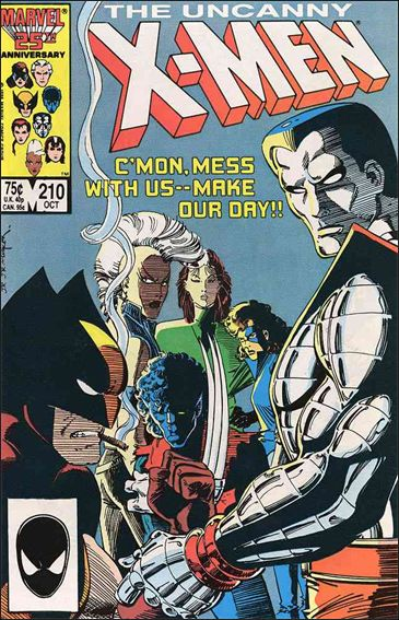 Uncanny X-Men (1981) 210-A by Marvel