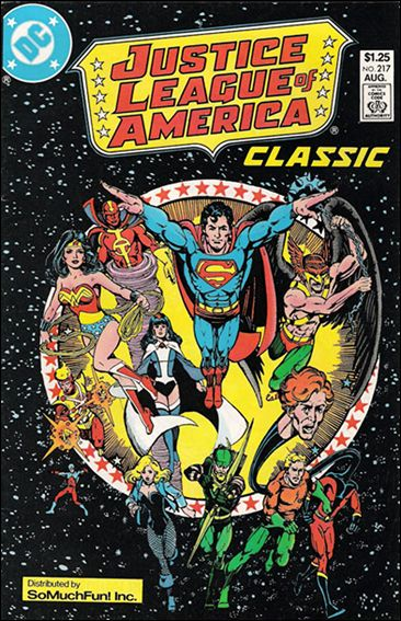 Justice League of America (1960) 217-C by DC