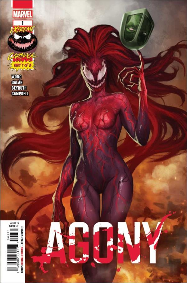 Extreme Carnage: Agony 1-A by Marvel