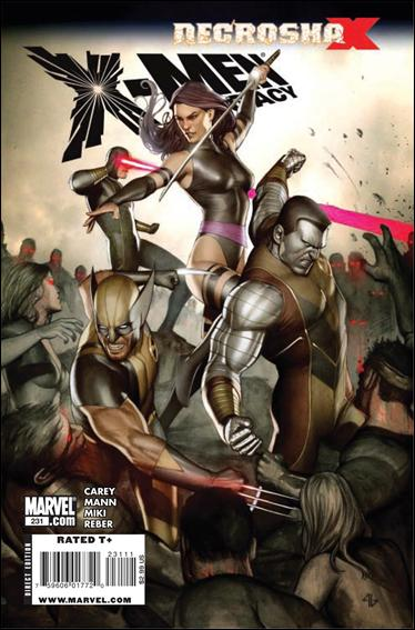X-Men Legacy (2008) 231-A by Marvel