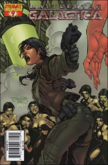 Battlestar Galactica (2006) 9-A by Dynamite Entertainment