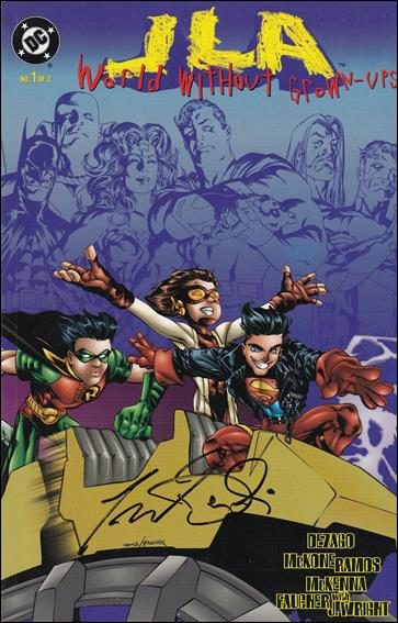JLA: World Without Grown-Ups 1-B by DC