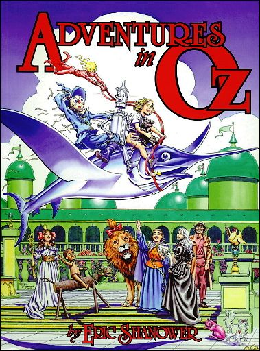 Adventures in Oz 1-A by IDW