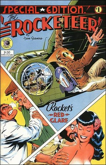 Rocketeer Special Edition 1-A by Eclipse