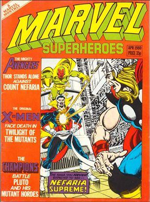 Marvel Superheroes (UK) 360-A