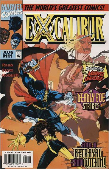 Excalibur (1988) 111-A by Marvel