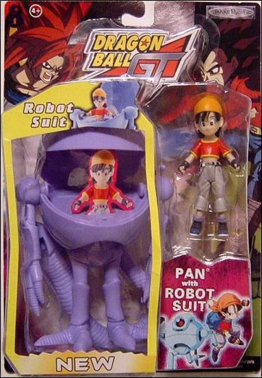 dragon ball gt pan. Dragon Ball GT Pan with Robot