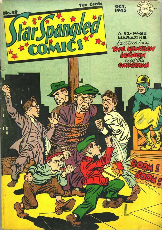 Star Spangled Comics (1941) 49-A by DC