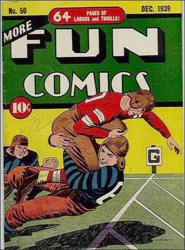 More Fun Comics 50-A by DC