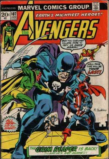 Avengers (1963) 107-A by Marvel