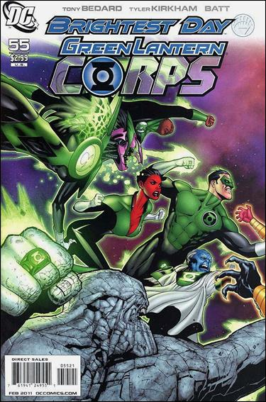Green Lantern Corps (2006) 55-B by DC