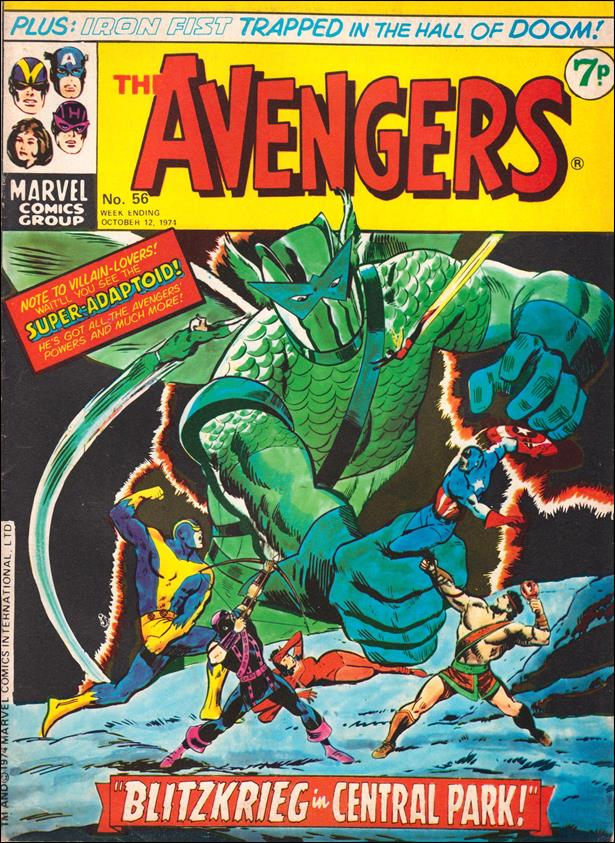 Avengers (UK) 56-A by Marvel UK