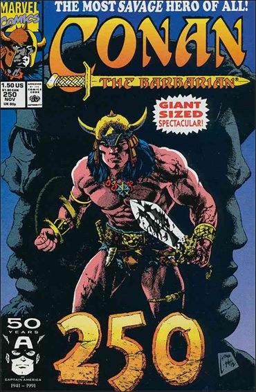 Conan the Barbarian (1970) 250-A by Marvel