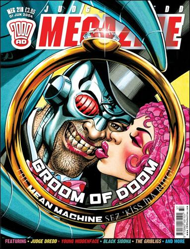 Judge Dredd Megazine (2003) 219-A by Rebellion