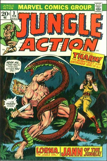 Jungle Action (1972) 3-A by Marvel