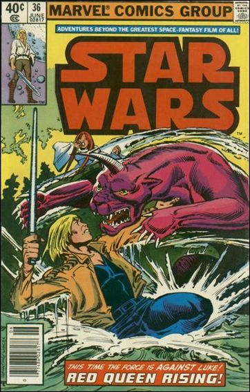 Star Wars (1977) 36-A by Marvel