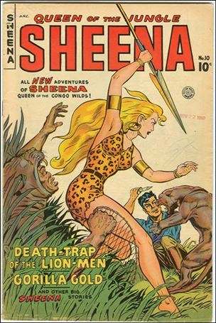 Sheena, Queen of the Jungle 10-A