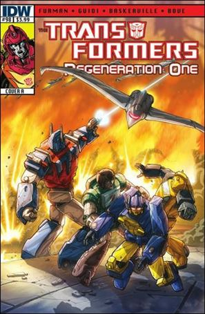Transformers: Regeneration One 98-A