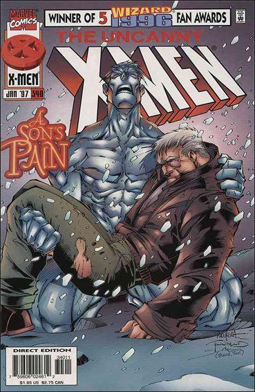 Uncanny X-Men (1981) 340-A by Marvel