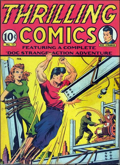 Thrilling Comics (1940) 13-A by Standard