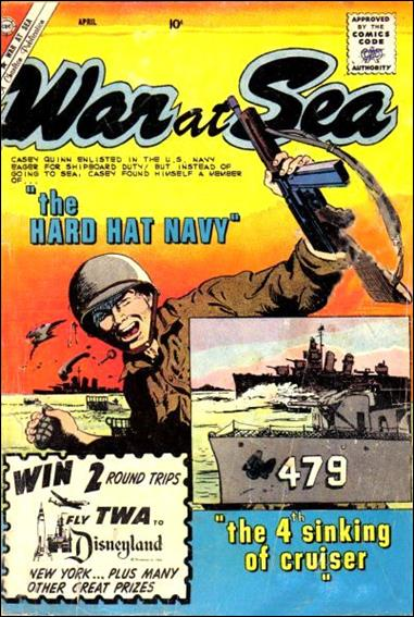 War at Sea 35-A by Charlton