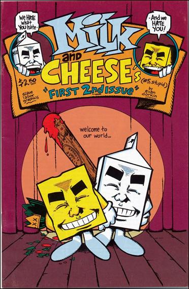 Milk & Cheese 5-A by Slave Labor Graphics (SLG) Publishing