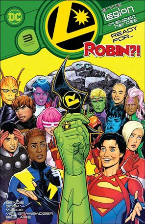 Legion of Super-Heroes (2020) 3-A