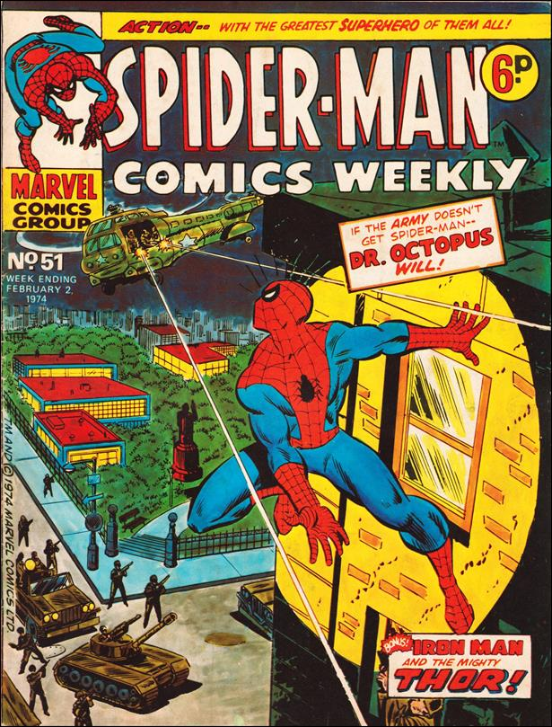 Spider-Man: Comics Weekly (UK) 51-A by Marvel UK
