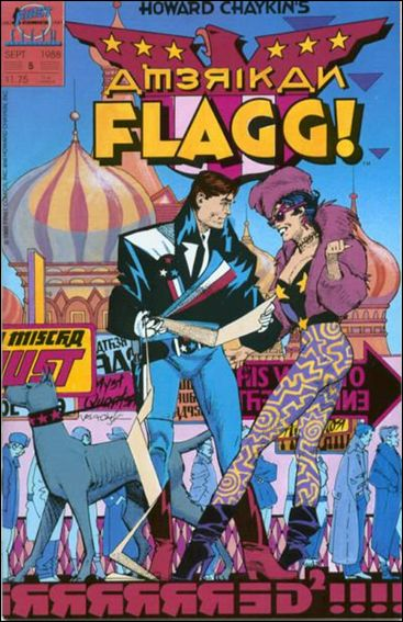 American Flagg! (1988) 5-A by First