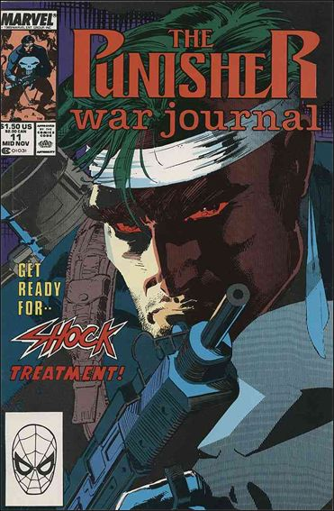 Punisher War Journal (1988) 11-A by Marvel