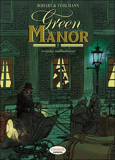 Green Manor 1-A by Cinebook