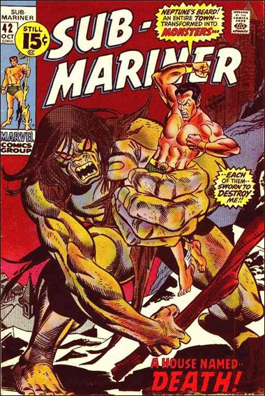 Sub-Mariner (1968) 42-A by Marvel