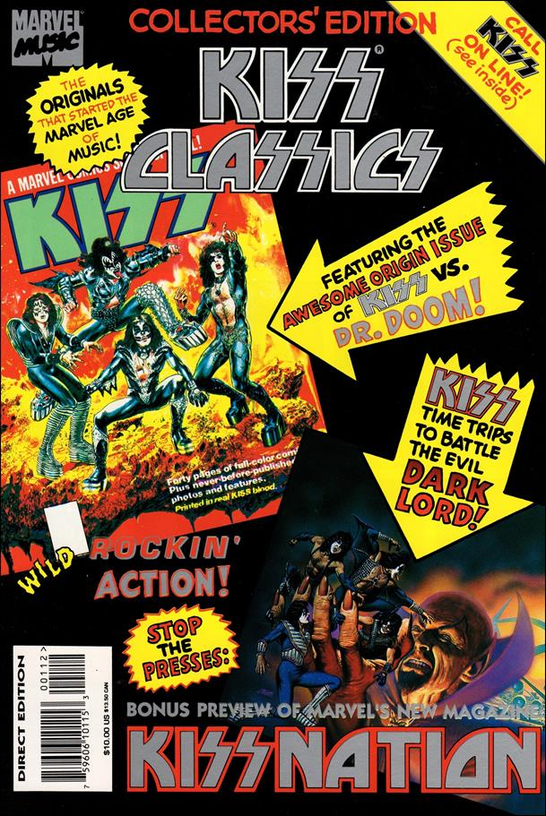 Kiss Classics 1-A by Marvel
