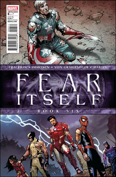 Fear Itself 6-A by Marvel