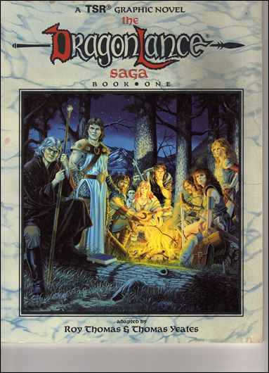 Dragonlance Saga 1-A by TSR