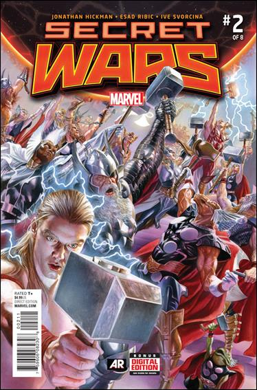 Secret Wars 2-A by Marvel