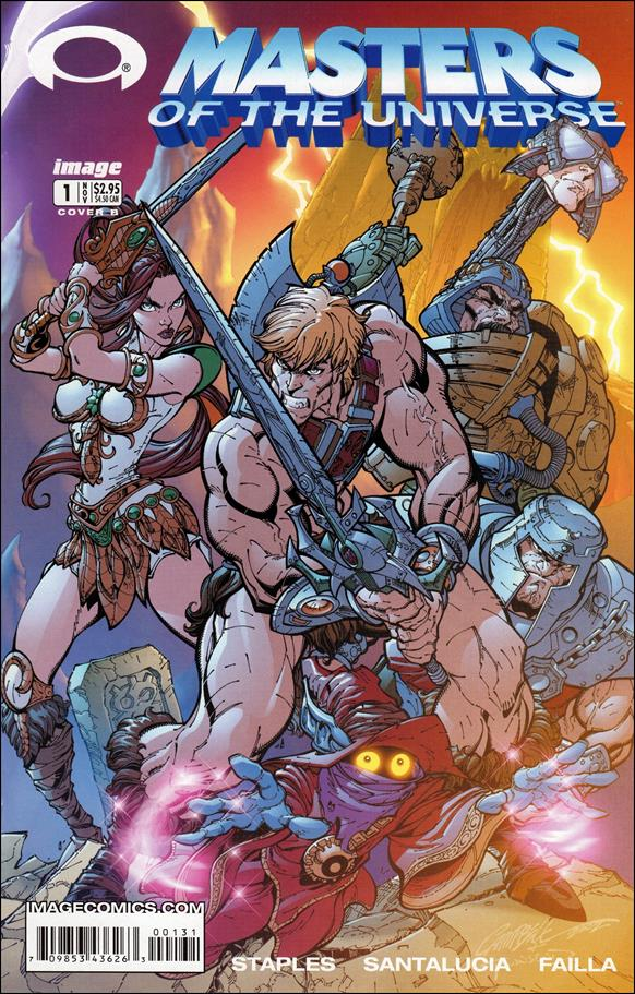 Masters of the Universe (2002) 1-B by Image