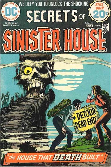 Secrets of Sinister House 18-A by DC