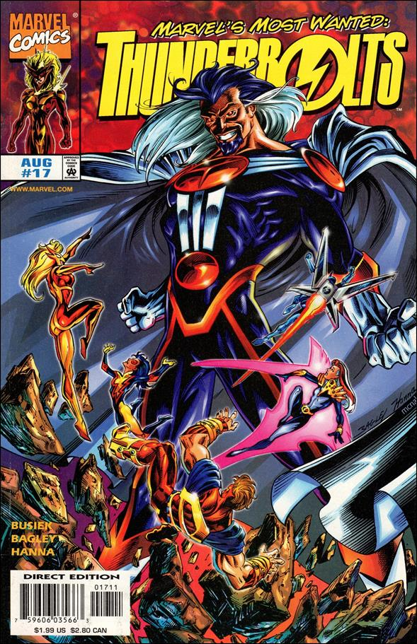Thunderbolts (1997) 17-A by Marvel
