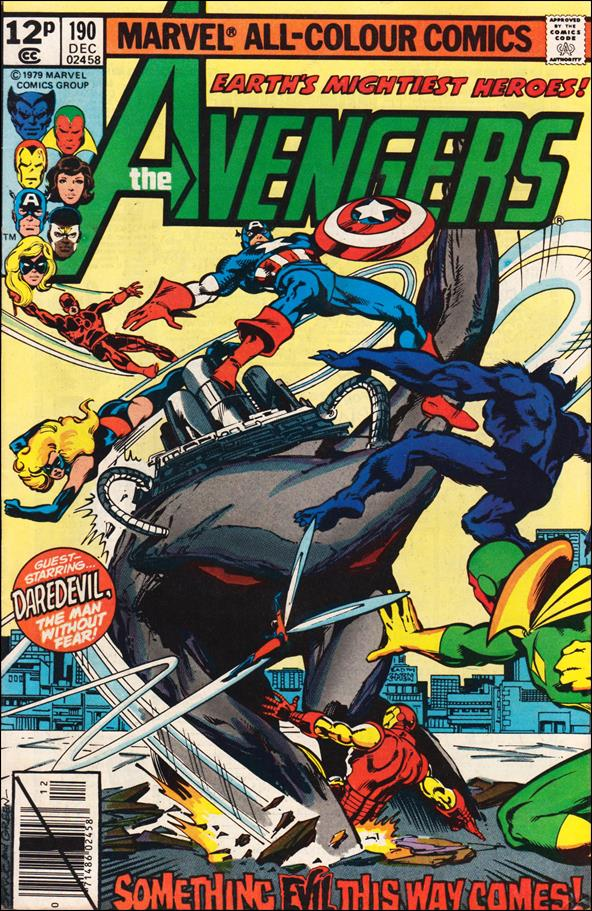 Avengers (1963) 190-B by Marvel