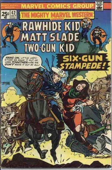 Mighty Marvel Western 42-A by Marvel
