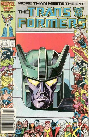 Transformers (1984) 22-A by Marvel